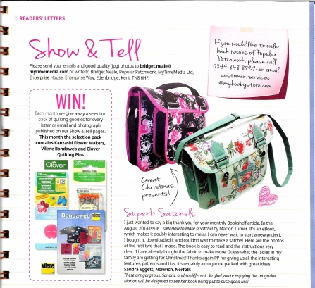 PP Show and Tell Oct 14 issue