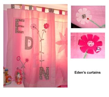 Eden's curtain pics