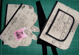 All components for Iron Works Satchel 08